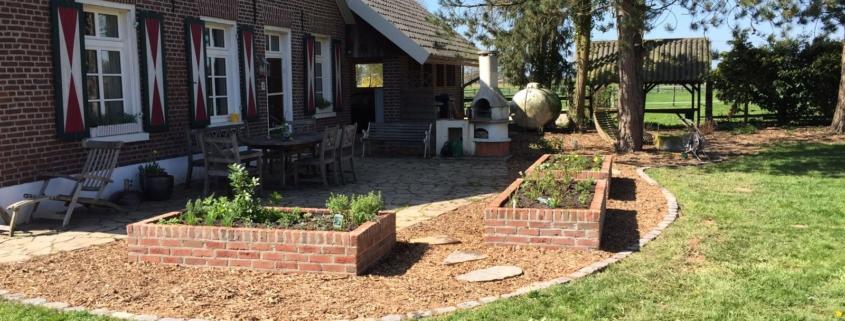 Garten im Landhausstil Bocholt Rhede Gartengestaltung Gartenbauer Innovatio GmBH Landschaftsbau