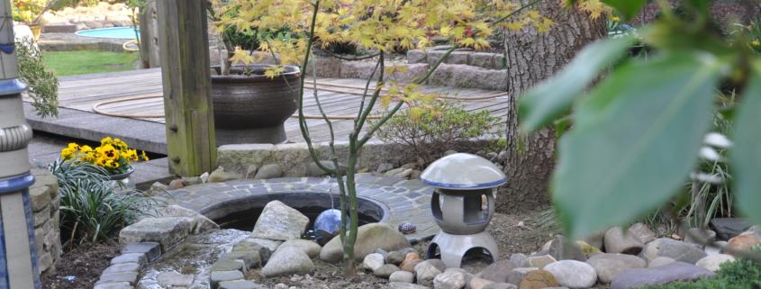 Bachläufe im Garten Landschaftsbau gartengestaltung Bocholt Rhede