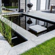 Garten und Landschaftsbau Bocholt Innovatio Koibecken Wasser im Garten