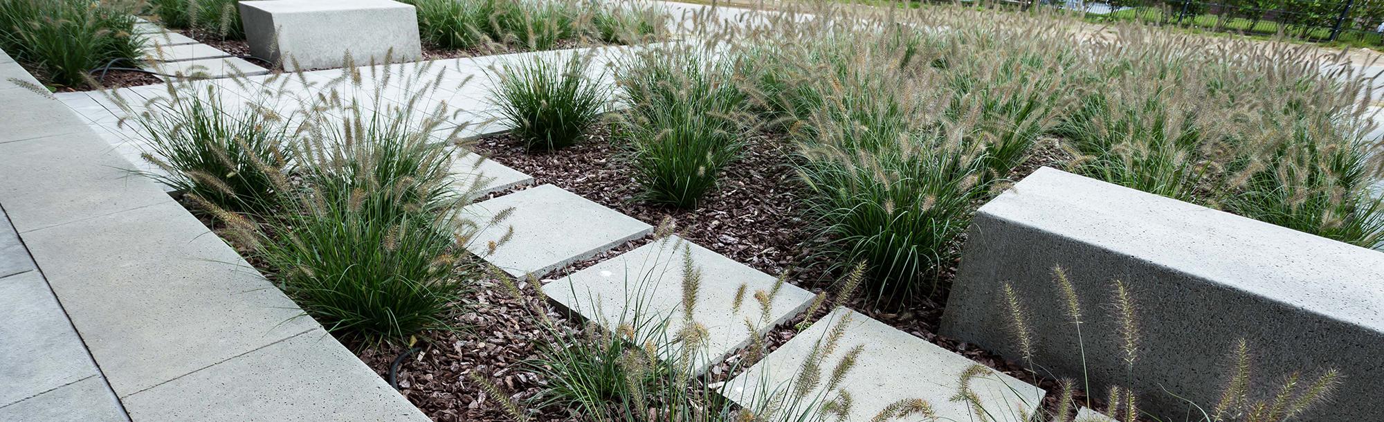 Garten und Landschaftsbau, Bocholt Innovatio Vorgarten und Auffahrt
