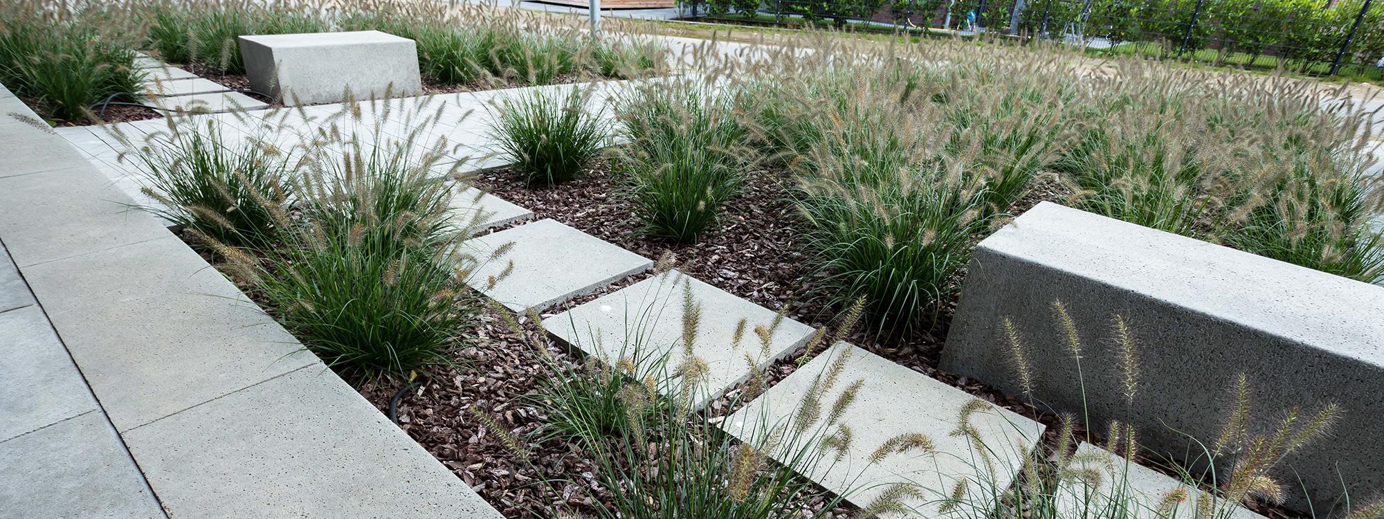 Garten und Landschaftsbau Bocholt Innovatio Vorgarten und Auffahrt