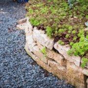 Innovatio Landschaftsbau Gartenbau Beispiele Bocholt Rhede Gartengestaltung Gartenplanung Mauer Naturstein
